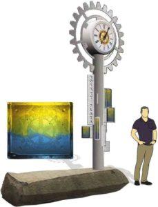 Rotary Plaza Clock