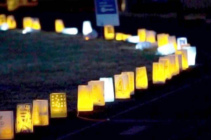 2017 Tigard/Tualatin Relay for Life Luminaria Ceremony.