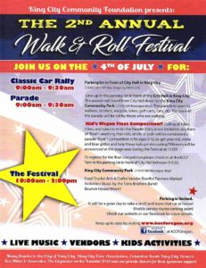 King City Walk and Roll Fourth of July Festival