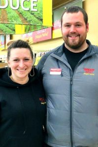 New King City Grocery Outlet owner/operators Racheal and Brandon Donnelly just took over the store in late October and have already become an integral part of the community while updating the store in the King City Plaza.