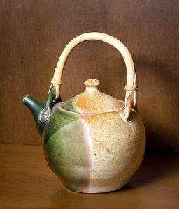 Ceramic Tea Pot, Peter Irving.