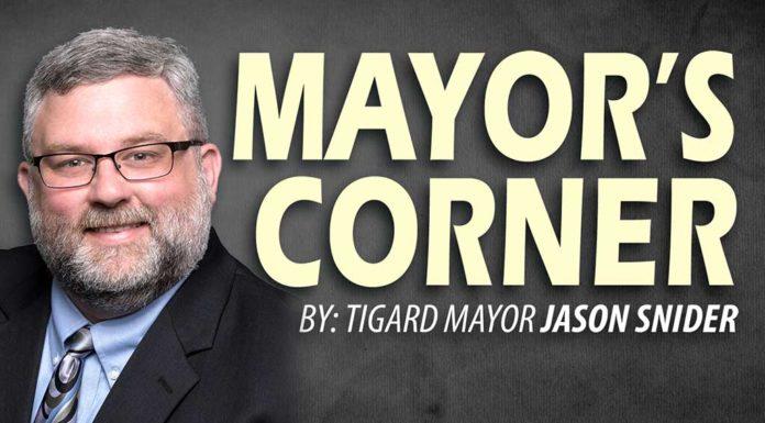 Jason Snider, Mayor's Corner