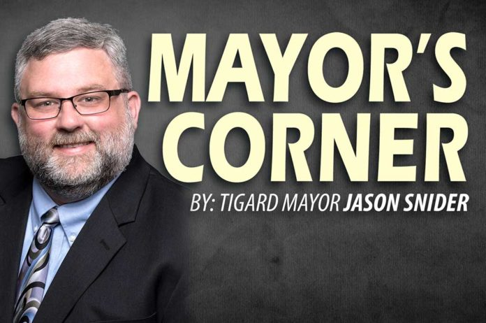 Jason Snider, Mayor's Corner