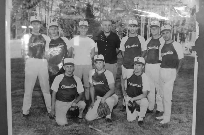 Jim Ahl baseball team