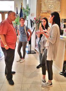Cypriot teens meet Zikria