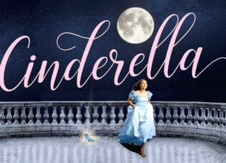 broadway rose theatre company, cinderella, megan tudor