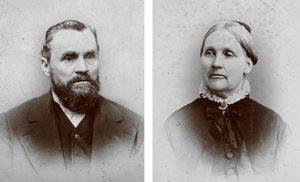 Albert Alonzo Durham, Miranda Almira White Durham
