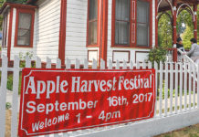 apple harvest festival, davidson's restaurant, tigard historical association