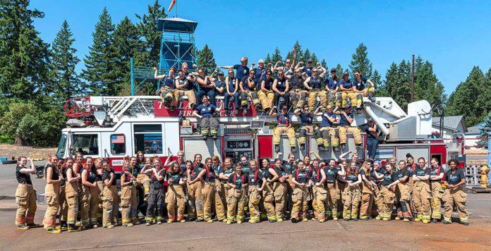 fire rescue tigard, metro fire camp