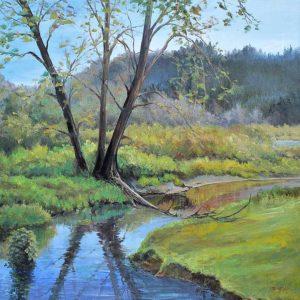 Coastal Creek, Pamela Claflin.