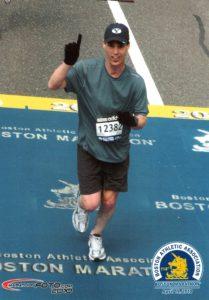 Roger Bates, running Tigard, Boston Marathon
