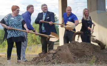 tigard heritage trail ground breaking