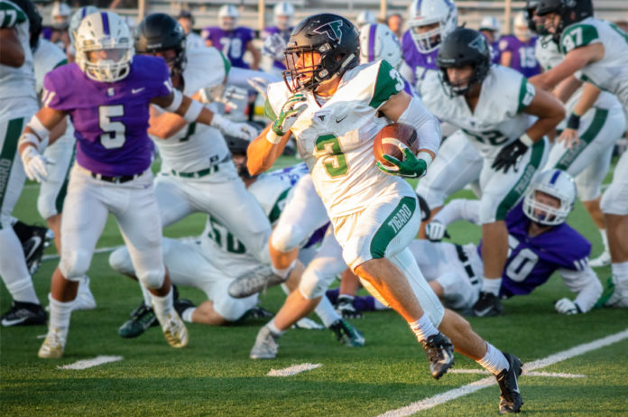 tigard high school football vs sunset high school