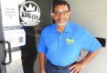 King City Mayor Ken Gibson. Photo by Barbara Sherman.