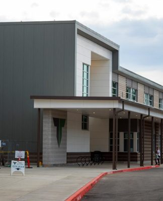 North side of Tigard High School.