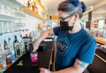 Senet Game Bar bartender and mixologist Katie Sabolek
