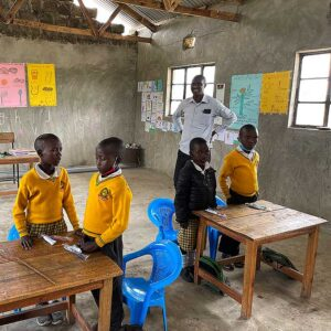 Students at the Gilisho Freedom Academy School.